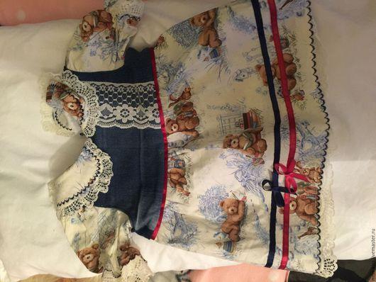 Одежда для кукол ручной работы. Ярмарка Мастеров - ручная работа. Купить Платье для куклы 50 - 55 см. Handmade.