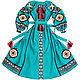 """Длинное платье с клиньями """"Лесная Песня"""", Dresses, Kiev,  Фото №1"""