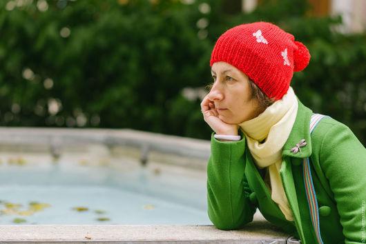 Шапки ручной работы. Ярмарка Мастеров - ручная работа. Купить Вязаные шапки из мерино любых цветов. Handmade. Разноцветный