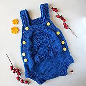Работы для детей, ручной работы. Ярмарка Мастеров - ручная работа Боди для новорожденного. Handmade.