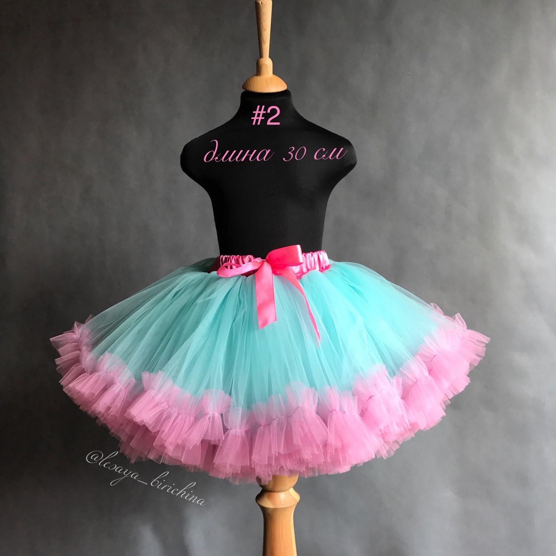 Как сделать пышную юбку для девочки