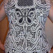 """Одежда ручной работы. Ярмарка Мастеров - ручная работа Жакет""""Бабочки"""".. Handmade."""