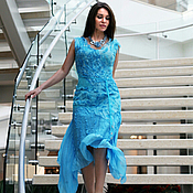 Одежда handmade. Livemaster - original item felted summer dress