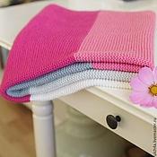 Для дома и интерьера ручной работы. Ярмарка Мастеров - ручная работа Детское одеяло, вязаный плед для малыша. Handmade.