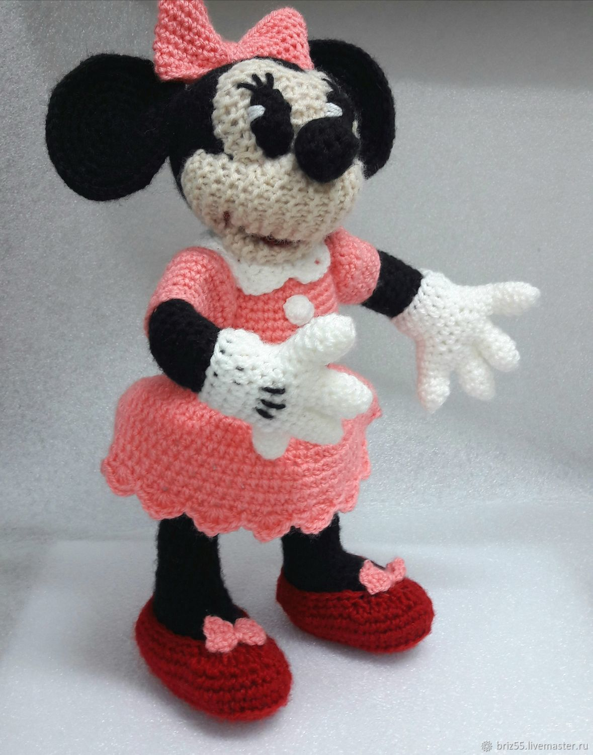Minnie and Mickey mouse soft knitted toy – shop online on Livemaster ...