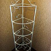 Для дома и интерьера handmade. Livemaster - original item Forged rack (bookshelf). Handmade.