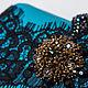 """Женские сумки ручной работы. Заказать """"Teatro La Fenice"""", вечерняя сумочка, вышивка бисером. Олита :: Бусина Сумка как искусство. Ярмарка Мастеров."""