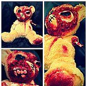 Куклы и пупсы ручной работы. Ярмарка Мастеров - ручная работа Зомби-мишка плюшевый. Handmade.