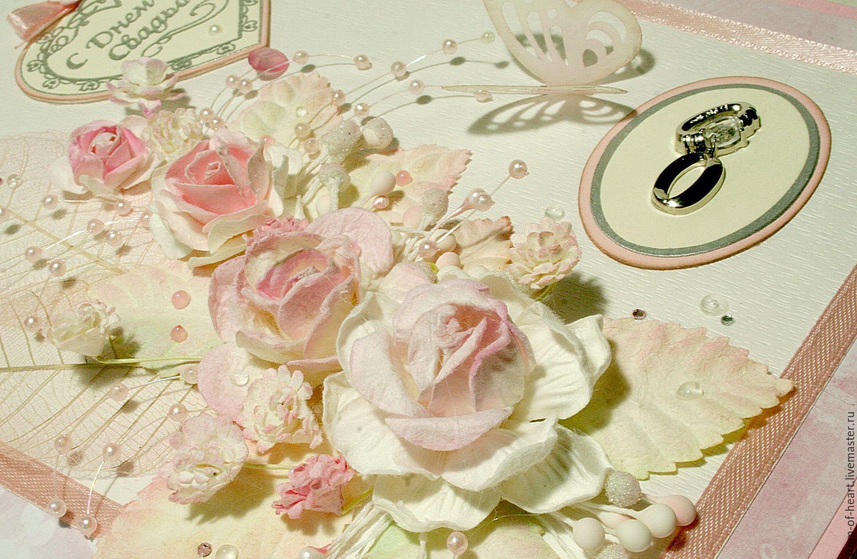 Открытка с днем свадьбы на заказ