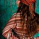 """Кофты и свитера ручной работы. Кофта с широкими рукавами из коллекции """"Аравия"""". Ирловин. Интернет-магазин Ярмарка Мастеров. Орнамент"""