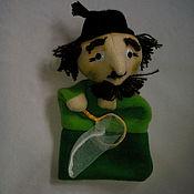 Куклы и игрушки ручной работы. Ярмарка Мастеров - ручная работа Дуремар. Перчаточная кукла.. Handmade.