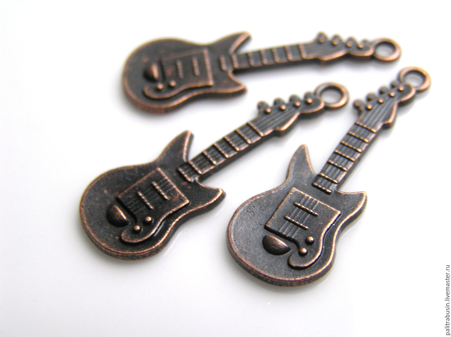 Pendants guitar the color of copper, Accessories4, Tyumen,  Фото №1