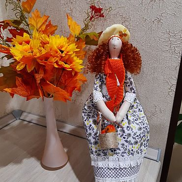 Куклы и игрушки ручной работы. Ярмарка Мастеров - ручная работа Тильды: Девушка Осень. Handmade.