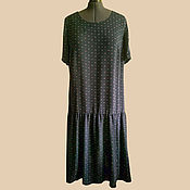Одежда handmade. Livemaster - original item The dress is semi-free with a low waist.. Handmade.
