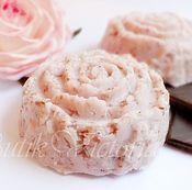Косметика ручной работы. Ярмарка Мастеров - ручная работа Твердый шампунь Розовый Шоколад 100 г. Handmade.