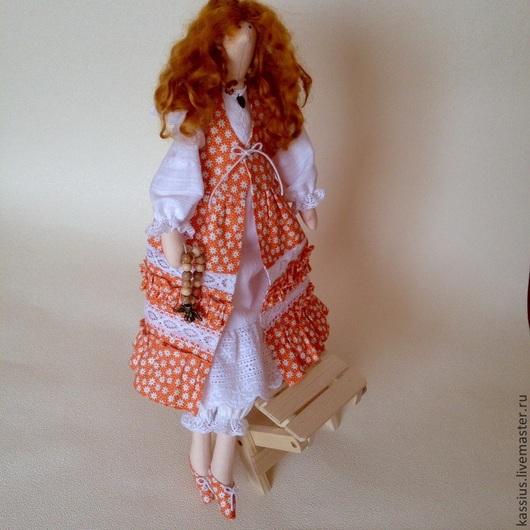 Куклы Тильды ручной работы. Ярмарка Мастеров - ручная работа. Купить Рыжее счастье (Интерьерная кукла ангел тильда). Handmade.