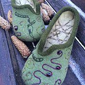 Обувь ручной работы. Ярмарка Мастеров - ручная работа Травы. Handmade.