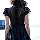 Платья ручной работы. Платье FALL/WINTER 2014-15. Baby-Doll Shop. Ярмарка Мастеров. Платье длинное, платье с рукавами