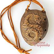 Музыкальные инструменты handmade. Livemaster - original item Dragon hand-made clay ocarina (tin whistle) . Musical instrument. Handmade.