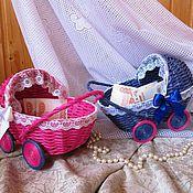 Свадебный салон ручной работы. Ярмарка Мастеров - ручная работа Колясочки свадебные на мальчика или девочку. Handmade.