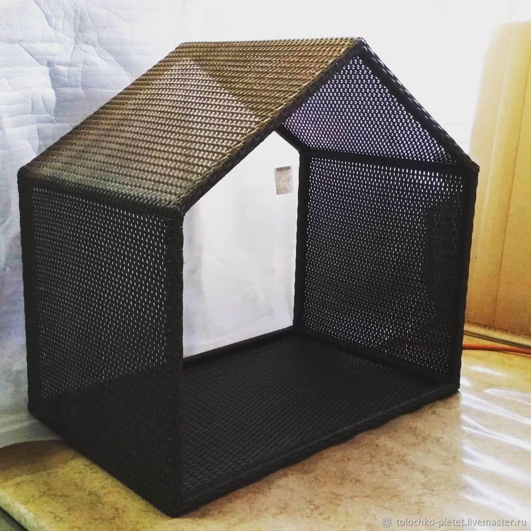Плетеная лежанка / будка для собак, Лежанки, Санкт-Петербург,  Фото №1
