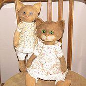 Куклы и игрушки ручной работы. Ярмарка Мастеров - ручная работа Кошечки. Handmade.