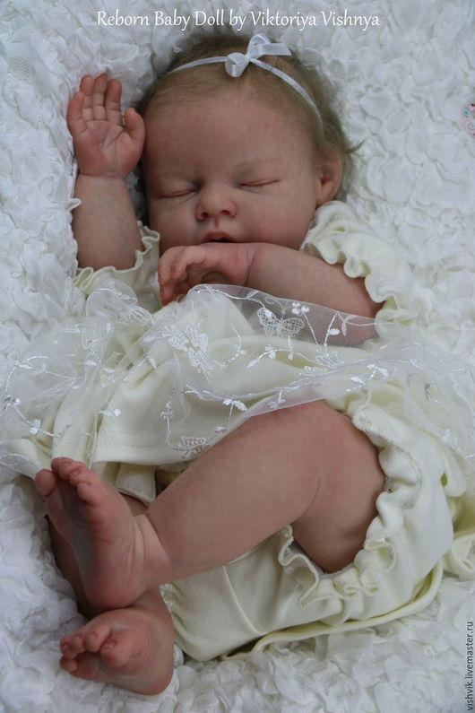 Куклы-младенцы и reborn ручной работы. Ярмарка Мастеров - ручная работа. Купить Ноа. Handmade. Кремовый, вишня виктория