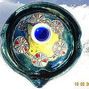 """Посуда ручной работы. Ярмарка Мастеров - ручная работа Гайвани """"Цветные сны  мандариновой травы"""". Handmade."""