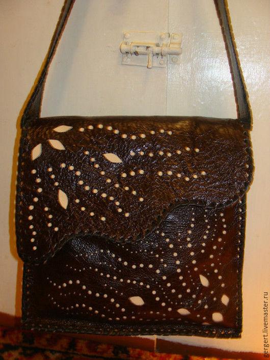 Женские сумки ручной работы. Ярмарка Мастеров - ручная работа. Купить сумка из кожи. Handmade. Сумка ручной работы, из кожи