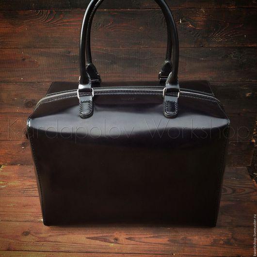Женские сумки ручной работы. Ярмарка Мастеров - ручная работа. Купить Большая сумка 111. Handmade. Черный, сумка для путешествий