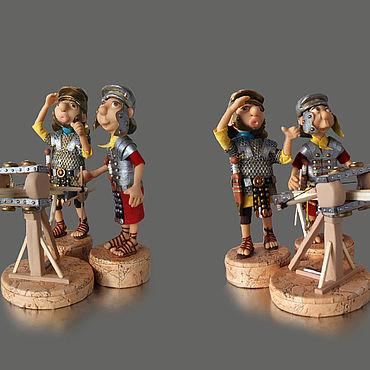 Куклы и игрушки ручной работы. Ярмарка Мастеров - ручная работа : Стрелки из гастрафета (продолжение серии). Handmade.