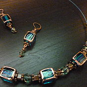Украшения manualidades. Livemaster - hecho a mano Set necklace and earrings