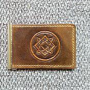 Сумки и аксессуары handmade. Livemaster - original item Money clip Star Russi. Handmade.