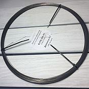 Материалы для творчества handmade. Livemaster - original item Wire spring diameter 0,7 (100 meters). Handmade.