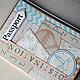 Обложки ручной работы. Заказать Обложки на паспорт Мое путешествие Подарок для пары Для документов. Скрап-Мельница. Семейные подарки (scrap-melnica). Ярмарка Мастеров.