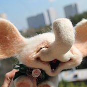 Куклы и игрушки ручной работы. Ярмарка Мастеров - ручная работа Счастливый слон. Handmade.