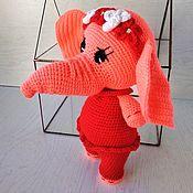 Куклы и игрушки handmade. Livemaster - original item Girl Elephant. Handmade.