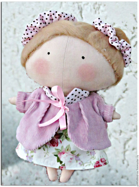 """Куклы Тильды ручной работы. Ярмарка Мастеров - ручная работа. Купить Кукла в стиле Тильда Малышка """"Home sweet home"""". Handmade."""