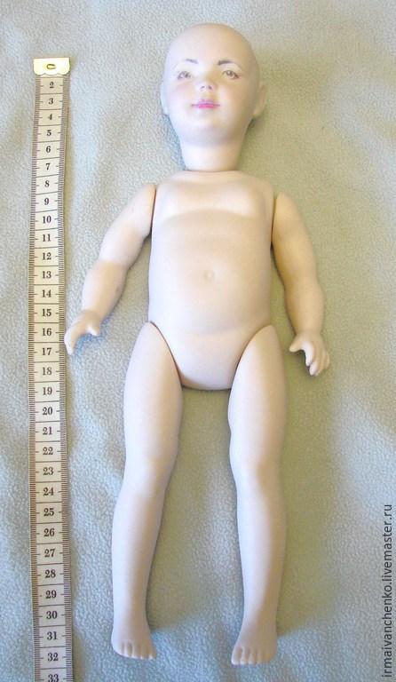 Как сделать фарфоровую куклу из заготовок