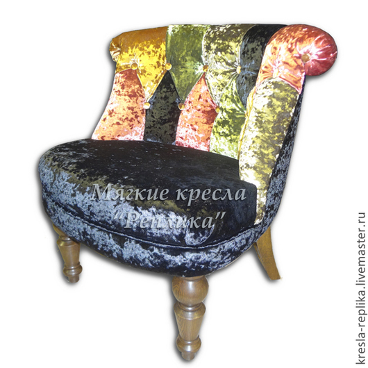"""Мебель ручной работы. Ярмарка Мастеров - ручная работа. Купить """"Пэчворк"""" кресло Арлекин. Handmade. Кресло, кресло для дома, печворк"""