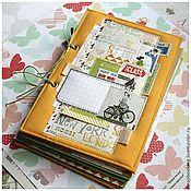 Подарки к праздникам handmade. Livemaster - original item A photo album orange. Handmade.