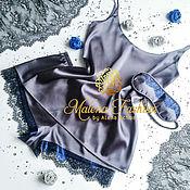 Одежда ручной работы. Ярмарка Мастеров - ручная работа Пижамка комплект, одежда для дома. Handmade.