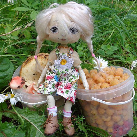 Коллекционные куклы ручной работы. Ярмарка Мастеров - ручная работа. Купить Анютка. Текстильная кукла.. Handmade. Кукла ручной работы