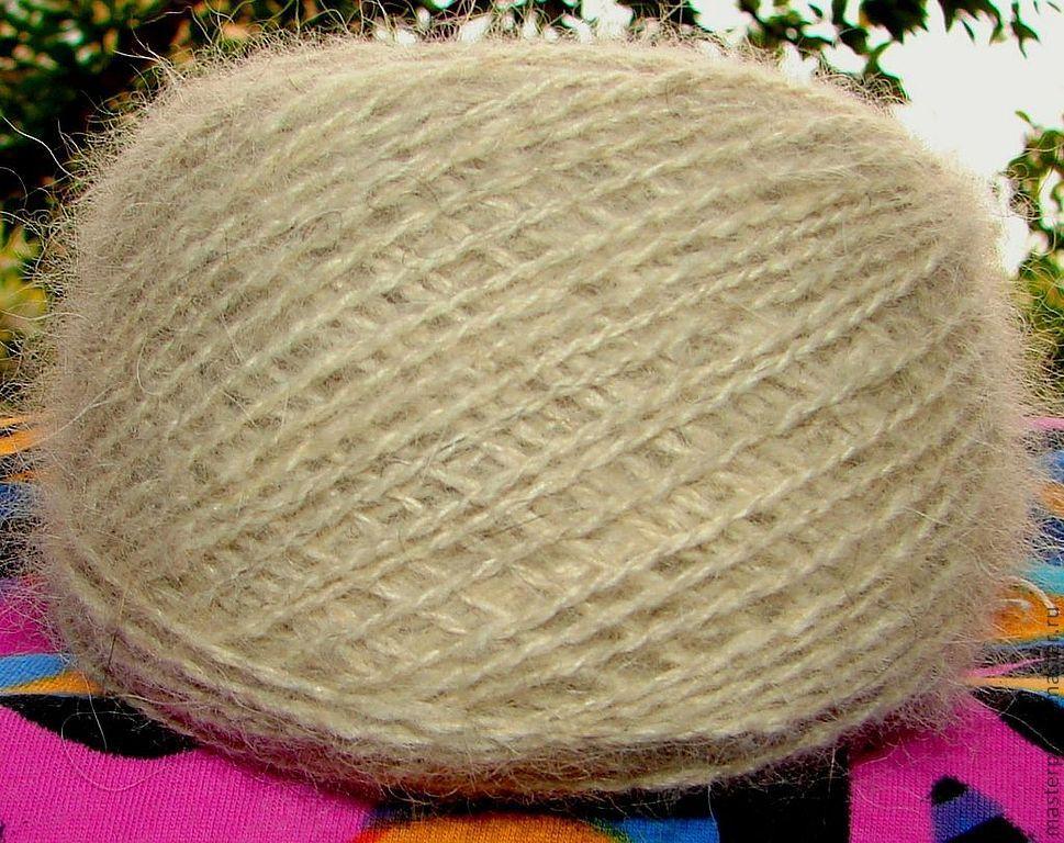 yarn dog Snow Dog