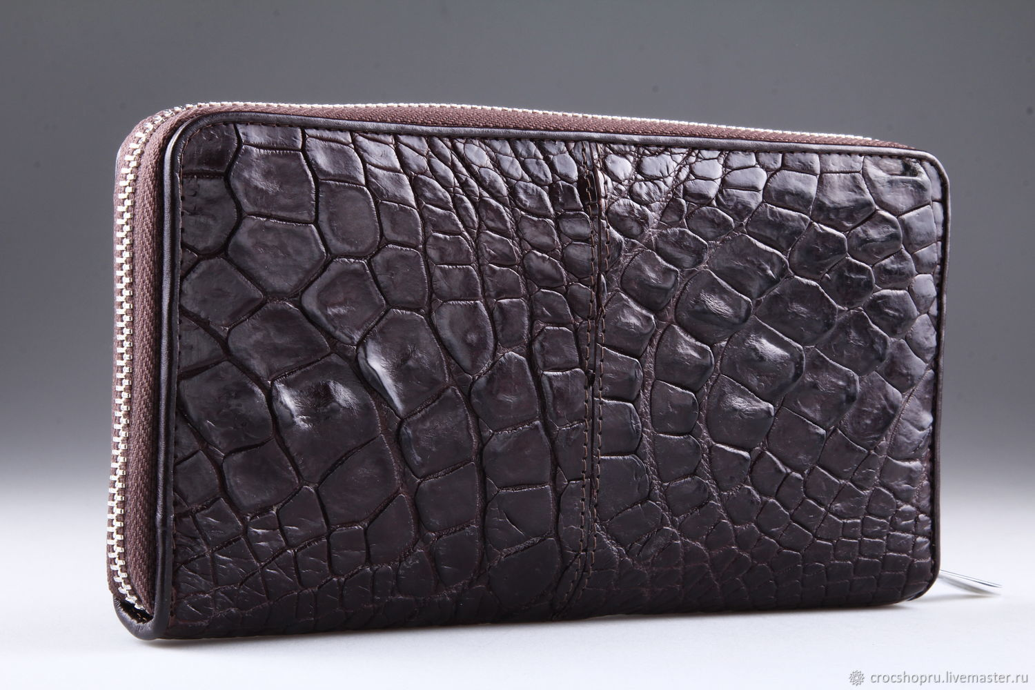Wallet crocodile leather IMA0206VK5, Wallets, Moscow,  Фото №1