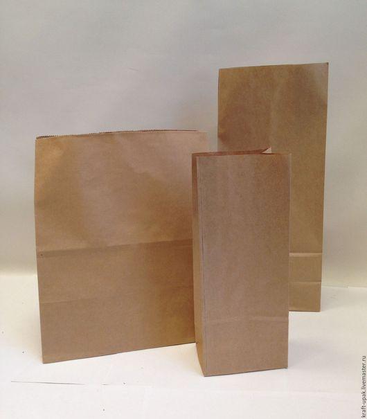 Упаковка ручной работы. Ярмарка Мастеров - ручная работа. Купить Крафтпакеты без ручек. Handmade. Натуральный, пакет упаковочный, бумага