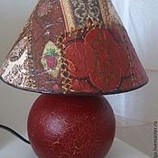 Для дома и интерьера ручной работы. Ярмарка Мастеров - ручная работа Лампа настольная в стиле Печворк. Handmade.