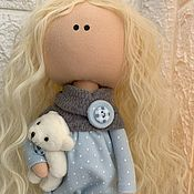 Большеножка ручной работы. Ярмарка Мастеров - ручная работа Текстильная кукла. Handmade.