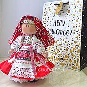 Народная кукла ручной работы. Ярмарка Мастеров - ручная работа Кукла Удмурточка. Коллекционная кукла в национальном удмуртском наряде. Handmade.