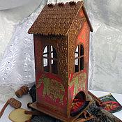 Подарки к праздникам ручной работы. Ярмарка Мастеров - ручная работа Чайный домик Слоны. Handmade.